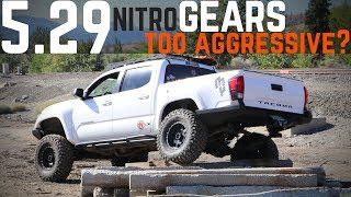 The Tacoma gets 5.29 Nitro Gears | Huge improvement!