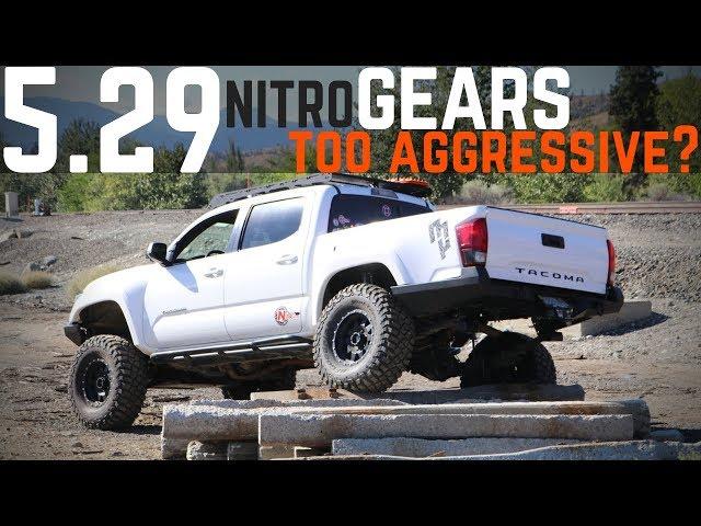 The Tacoma gets 5.29 Nitro Gears | Huge improvement!