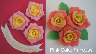 How to Make Play-Doh Roses & Fondant Roses for a Mother