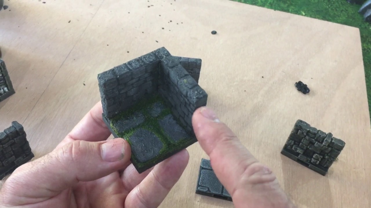 How to make Old School Dungeon Tiles with Rampage OpenLOCK by Printable  Scenery