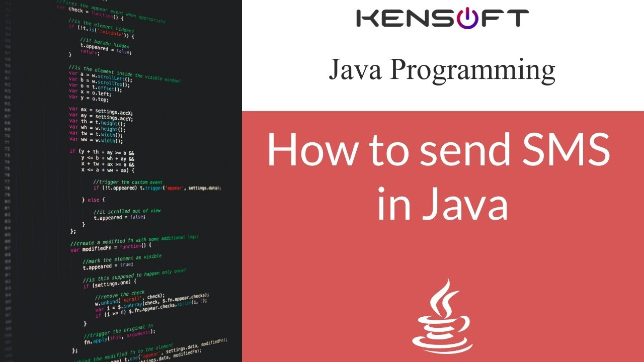 Sending an SMS using java