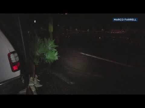 Montecito family records terrifying mudslide | ABC7