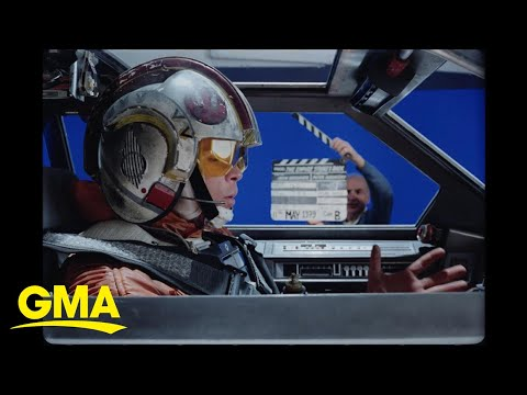 Rare and exclusive, behind the scenes look at 'The Empire Strikes Back' l GMA Digital