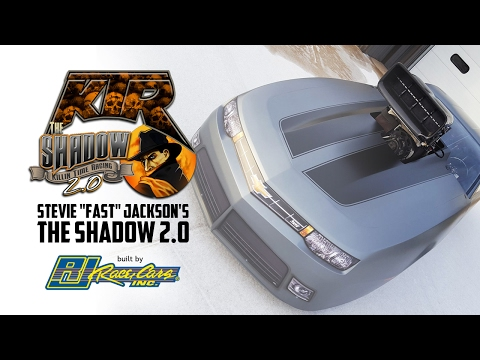 "Exclusive video of Stevie ""Fast"" Jackson's The Shadow 2.0 built by RJ Race Cars"