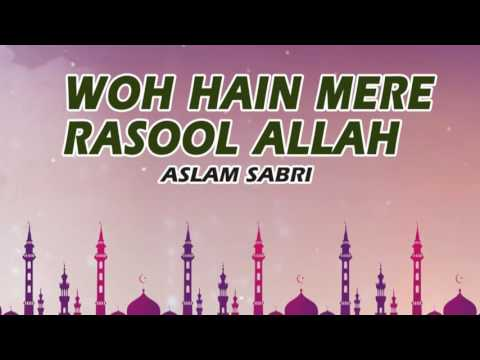 Wo Hain Mere Rasool Allah (Full Song)    Aslam Sabri    Sonic Enterprise