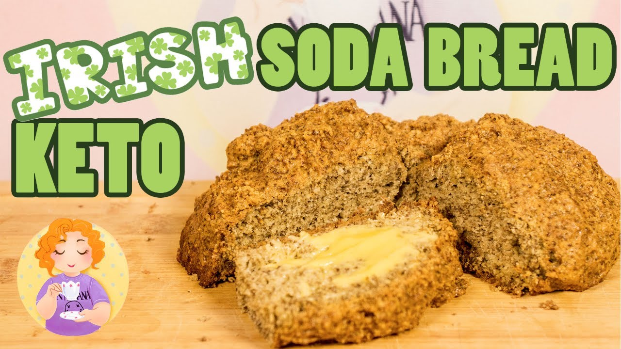 Best Keto Irish Soda Bread || Easy Low Carb Bread Recipe