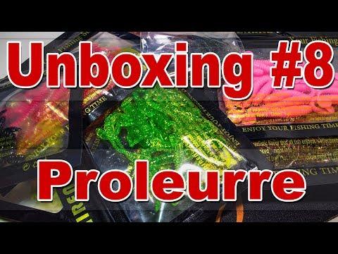 Unboxing #8 Силикон Proleurre   Копии Scissor Comb, Hogy Shrimp, Tioga, Swing Impact и другие
