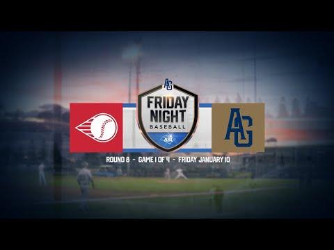 LIVE: Friday Night Baseball | R8 - G1 | Perth Heat @ Adelaide Giants