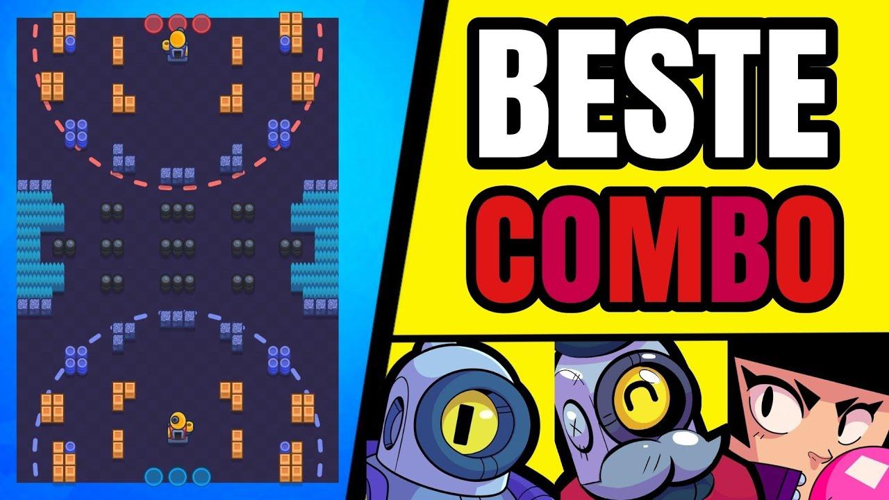 BESTE COMBO für DIESE MAP!🏆😱 (Rico, Barley, Bibi) Rang 35 Combo • Brawl Stars deutsch