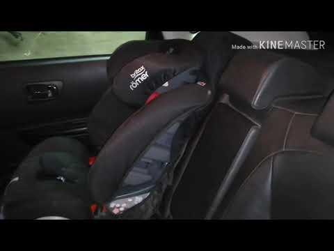 Изменение угла наклона спинки заднего сидения Кашкай