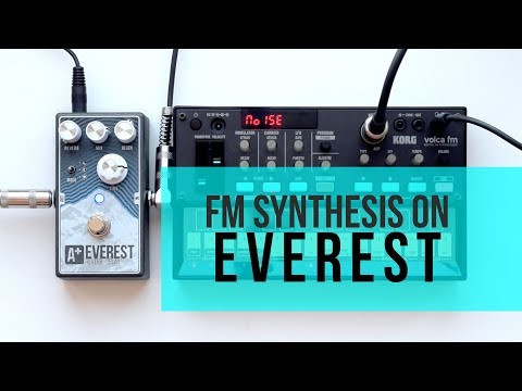 Volca FM meets A+ Everest (by Shift Line)