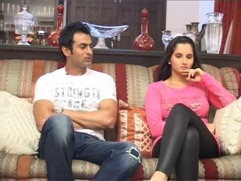 సానియా మీర్జా షోయబ్ మాలిక్ సరదా || TENNIS SANIA MIRZA PAKISTAN CRICKET STAR SHOAIB MALIK INTERVIEW