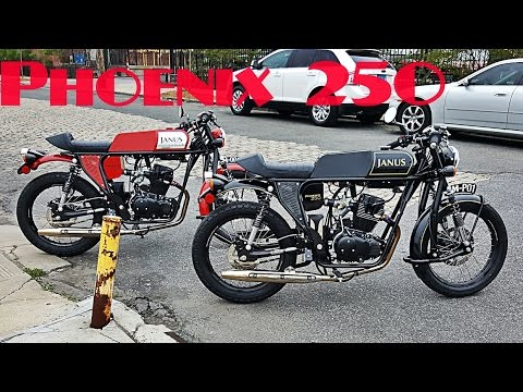 JANUS Motorcycles PHOENIX 250  NYC  Test Ride and Impressions