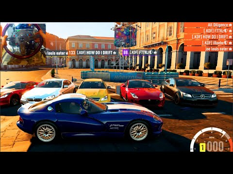 FH2 GoPro Road Trip Stock A Class w/Crew - 99' Dodge Viper  TREE!