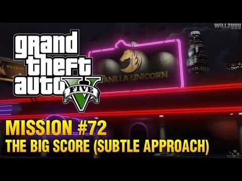 Grand Theft Auto V - Mission #72 - The Big Score (Subtle Approach)