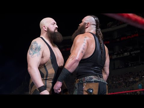 Steel Cage match set for Monday's Raw with Braun Strowman facing off against Big Show
