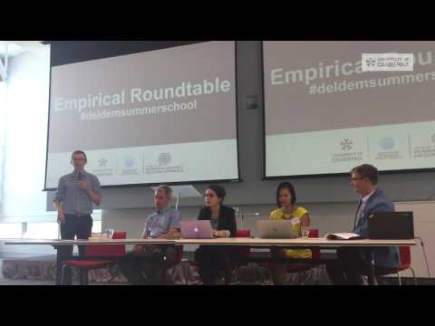 Second Deliberative Democracy Summer School: Empirical Roundtable