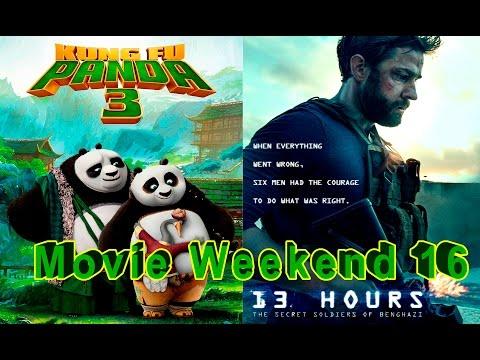Обзор Мультфильма Кунг Фу Панда 3 и фильм 13 часов: Тайные солдаты Бенгази (Review)