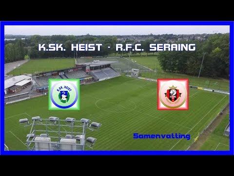KSK TV     K SK  Heist   R F C  Seraing   1   1