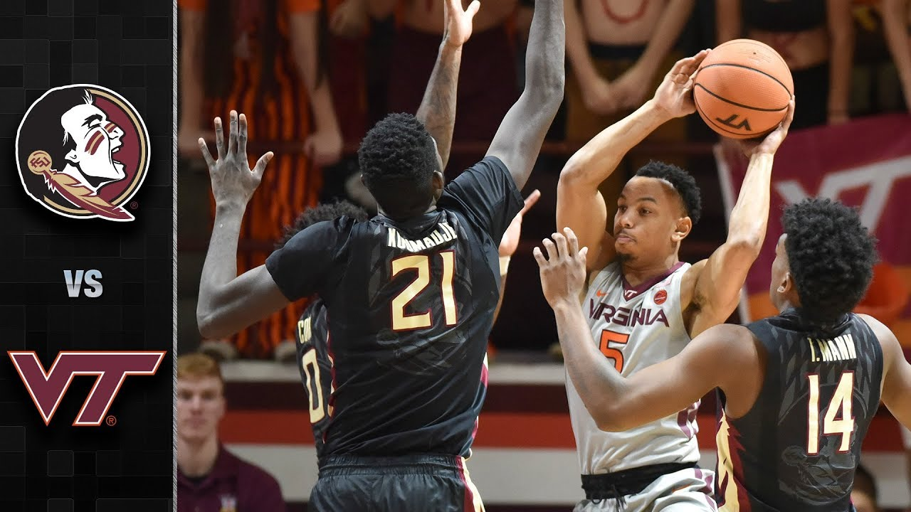 Image result for Virginia Tech Hokies vs Florida State Seminoles Live NCAA Men's College Basketball