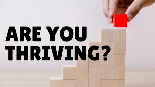 Are you thriving? | Tunbridge Wells Baptist Church online