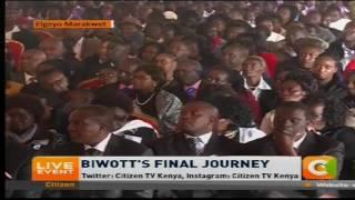 President Uhuru's speech at the late Nicholas Biwott's funeral