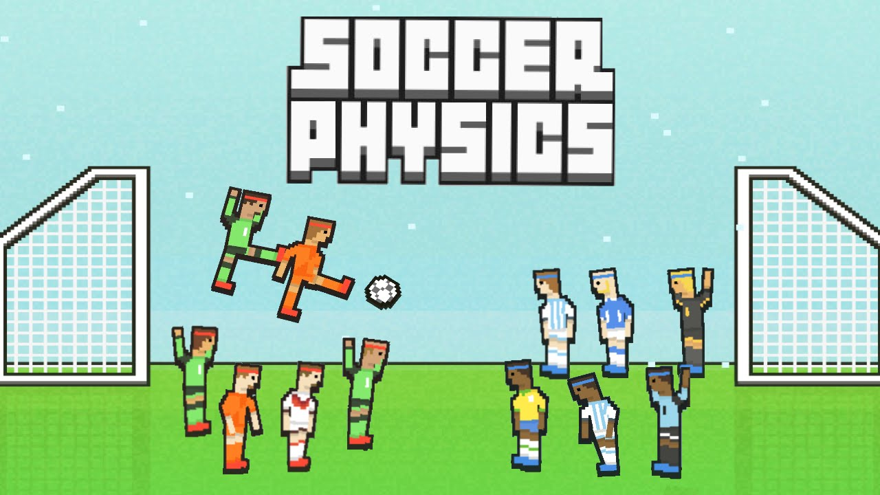 Soccer Physics Cool and Funny Moments Montage - YouTube