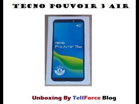 Tecno Pouvoir 3 Air Unboxing