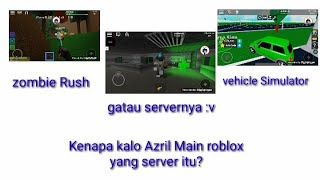 Why Kalo Azril main ROBLOX which server is in the thumbnail?