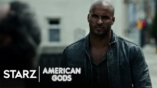 American Gods | Season 1 Official Trailer Starring Ian McShane & Ricky Whittle | STARZ