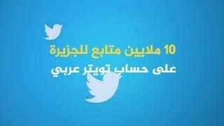 10 ملايين متابع للجزيرة على حساب تويتر عربي