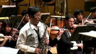 Concerto pour saxophone alto et orchestra by Pierre Max Dubois