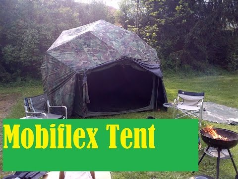 Crysis Camping 3 - Mobiflex Command Post Tent