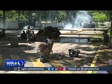 Dozens dead as demonstrators continue to clash with Venezuela authorities