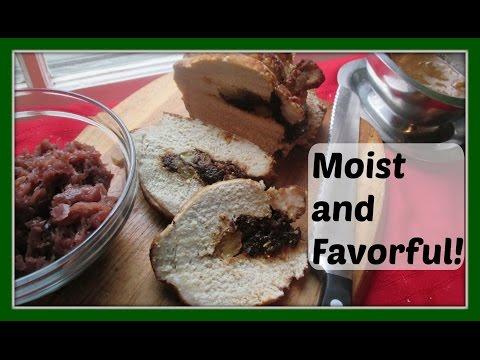 How To Make A Danish Stuffed Pork Roast with Danish Pork Gravy - Svinekød fyldt med svesker og æbler