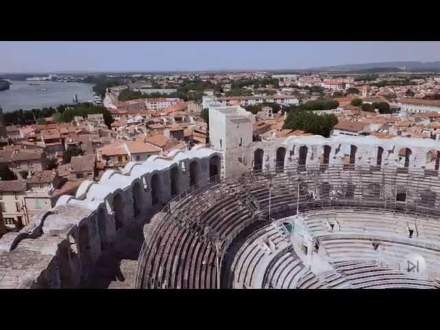 A la découverte du patrimoine, vu par drône - vidéo diffusée lors de l'ouverture du SIPPA