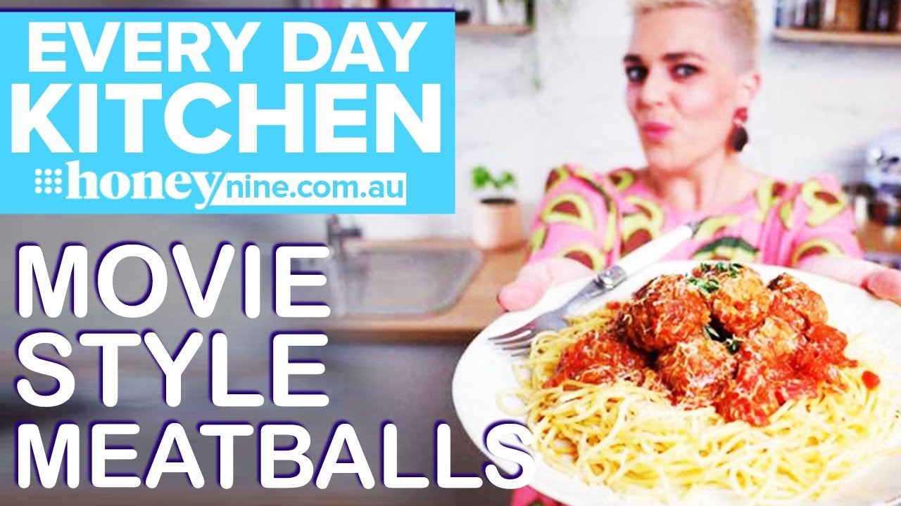 Spaghetti and meatballs like you've seen in the movies! | Every Day Kitchen | 9Honey