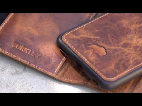 Burkley Magnetic iPhone 6s Plus Wallet Case