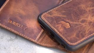 Burkley Magnetic iPhone 6s Plus Wallet Case