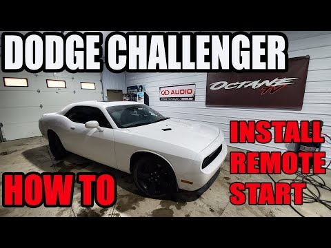 DODGE CHALLENGER – HOW TO INSTALL A REMOTE START