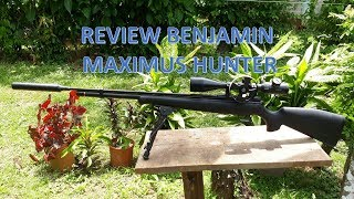 Revisión del Benjamin Maximus Hunter Cal.  5.5 - Review Benjamin Maximus Hunter Cal. 5.5.