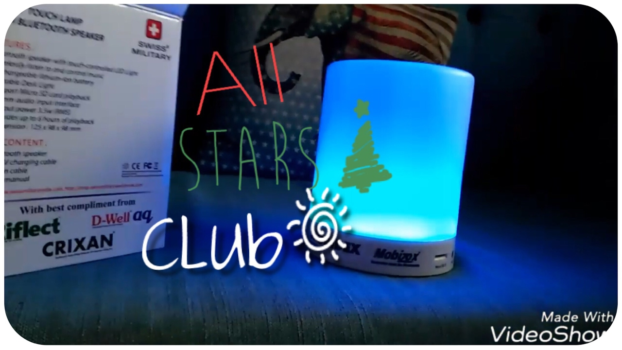 8cd2506e2f5 Swiss military smart touch lamp with Bluetooth speaker - YouTube
