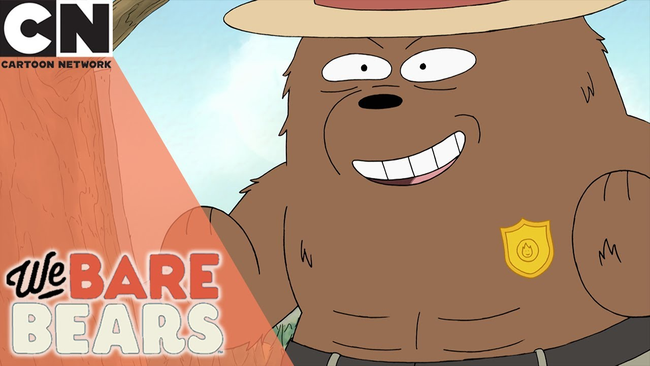 We Bare Bears | Grizz's Fire Safety | Cartoon Network UK 🇬🇧
