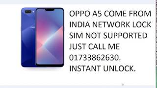 How To Unlock Oppo Network Lock Free Unlock Oppo A7/A3S/A5/Realme 2