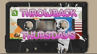 It's Throwback Thursday!