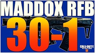 "30 KD w/ ""Maddox RFB""  in  Black Ops 4 TDM!  (BO4 Gameplay)"