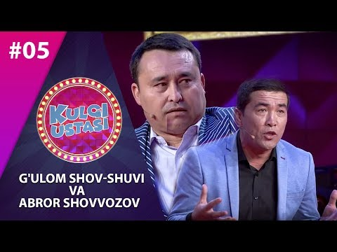 Kulgi Ustasi 5-son G'ulom Shov-shuvi Va Abror Shovvozov (10.12.2019)