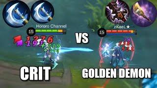 MIYA CRIT VS GOLDEN DEMON MIYA