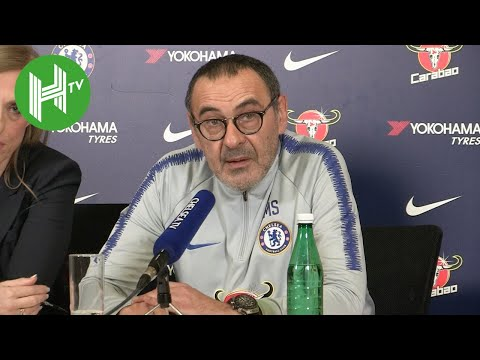 Crystal Palace v Chelsea | Maurizio Sarri: Time to decide on Eden Hazard's Chelsea future