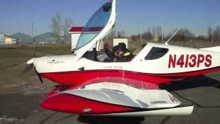 Flying the SportCruiser (Pipersport) CZAW from Florida to Canada and back